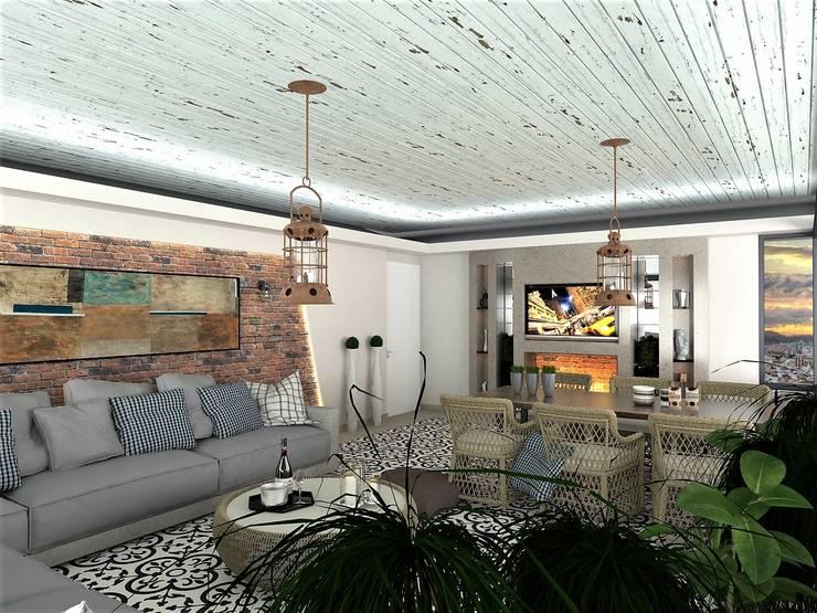 โดย Murat Aksel Architecture โมเดิร์น ไม้ Wood effect