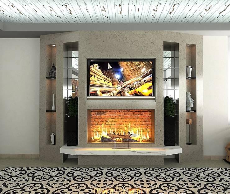 โดย Murat Aksel Architecture โมเดิร์น คอนกรีต