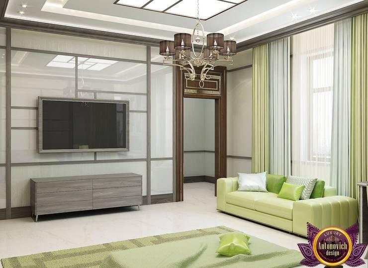 Bedroom design ideas of Katrina Antonovich 1:  Bedroom by Luxury Antonovich Design, Minimalist