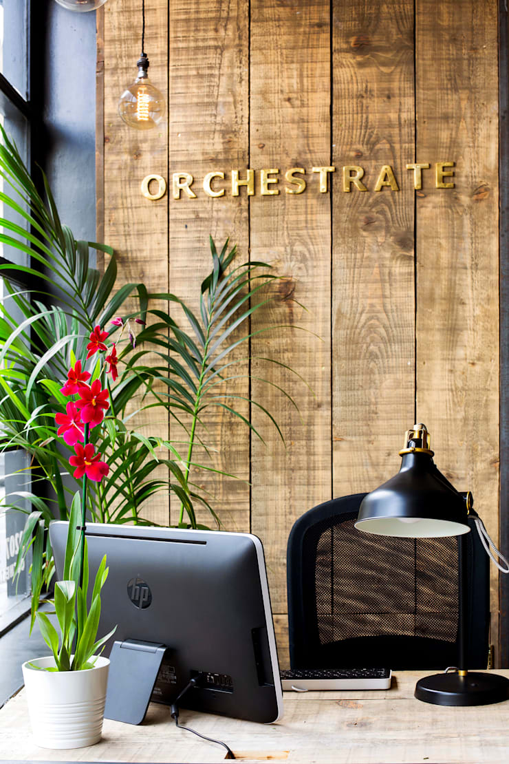 Orchestrate Office, Battersea 根據 Orchestrate Design and Build Ltd. 北歐風