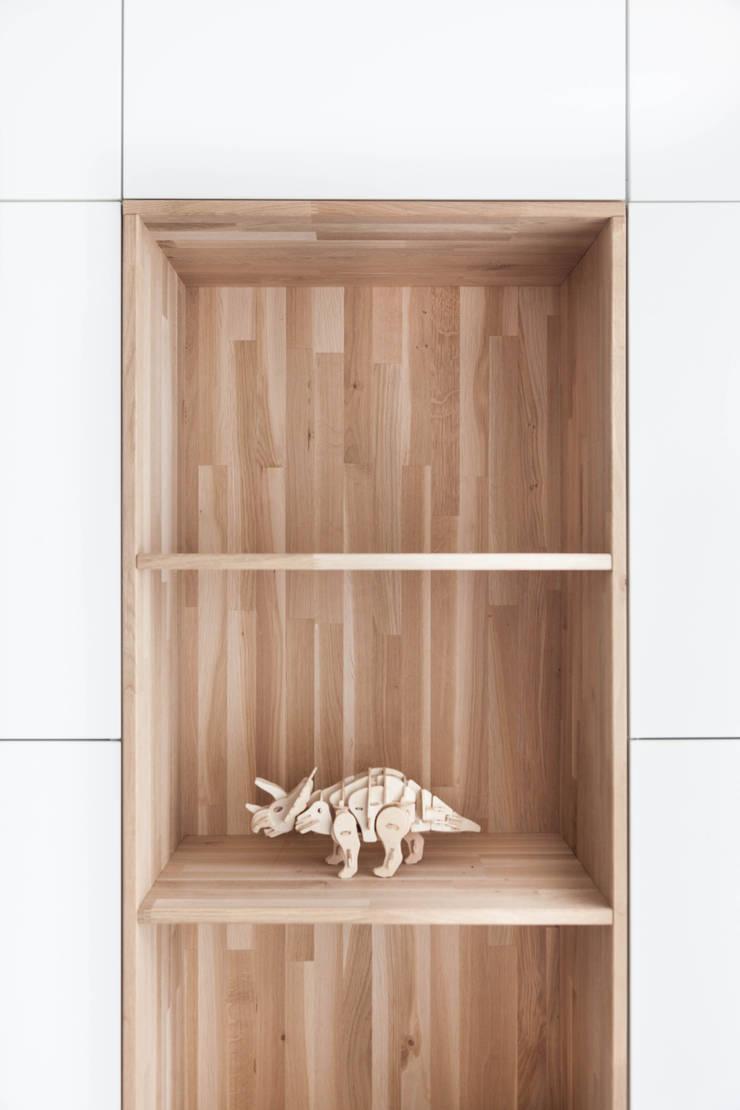 Woonhuis | Leiden :  Woonkamer door Design Studio Nu, Minimalistisch Hout Hout