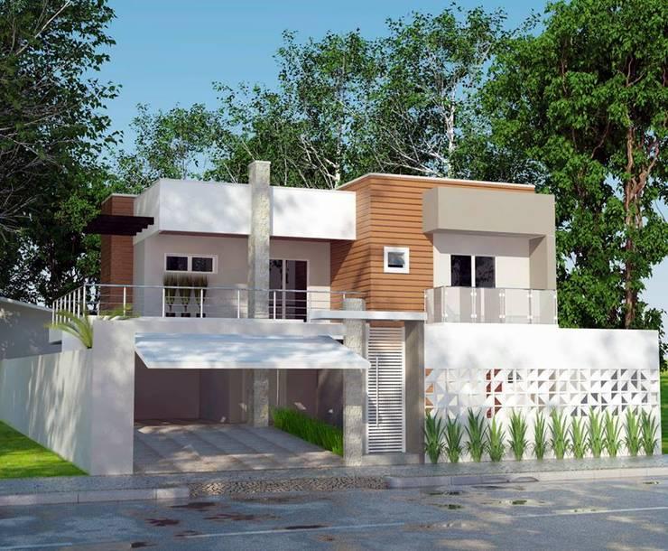 Casas de estilo  por Grafite - Arquitetura e Interiores