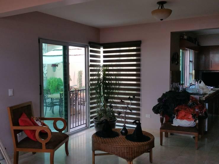 Proyecto Puerta de Hierro Tijuana.: Puertas y ventanas de estilo  por Persianas tijuana online