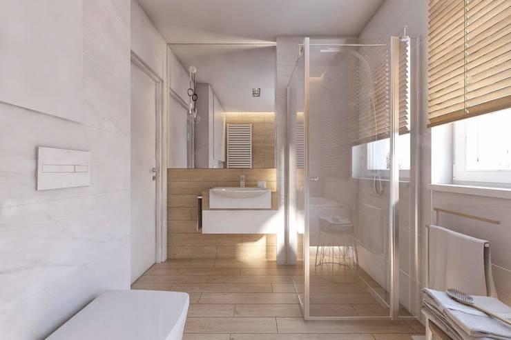حمام تنفيذ BAGUA Pracownia Architektury Wnętrz