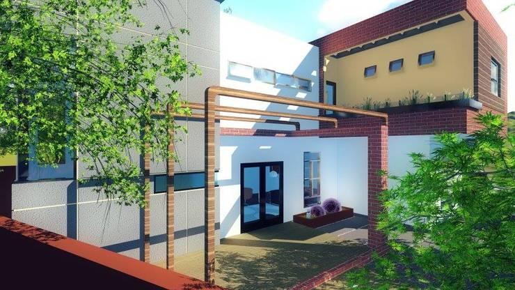 Proyecto de Casa Habitación:  de estilo  por CA ARQUITECTOS