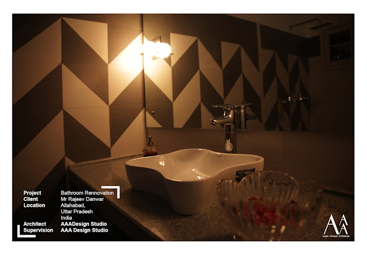 """BATHROOM MAKEOVER: {:asian=>""""asian"""", :classic=>""""classic"""", :colonial=>""""colonial"""", :country=>""""country"""", :eclectic=>""""eclectic"""", :industrial=>""""industrial"""", :mediterranean=>""""mediterranean"""", :minimalist=>""""minimalist"""", :modern=>""""modern"""", :rustic=>""""rustic"""", :scandinavian=>""""scandinavian"""", :tropical=>""""tropical""""}  by AAA Design Studio,"""