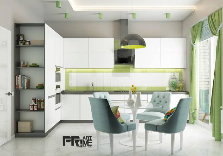 белая кухня: Кухни в . Автор – 'PRimeART'