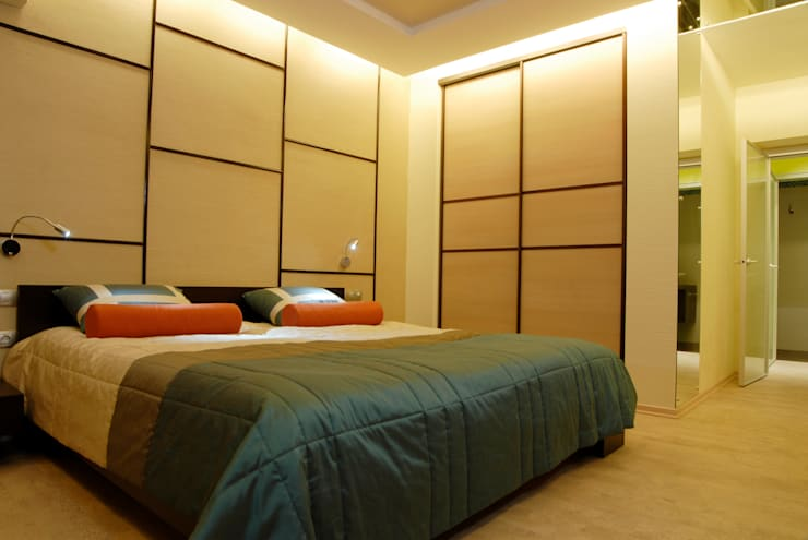 Dormitorios de estilo asiático por ARHITEKTO