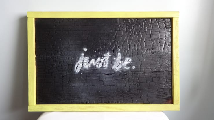 Quadro just be: Arte  por Interior Vivo,