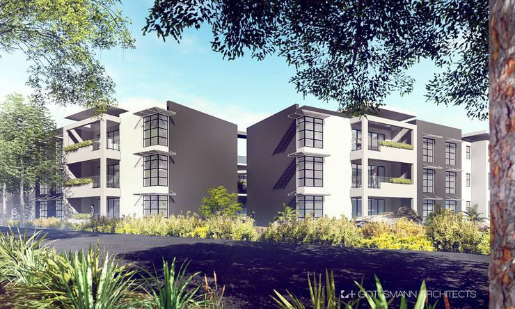 Apartments, Lusaka, Zambia:  Houses by Gottsmann Architects