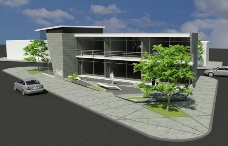 Locales Comerciales en salta: Casas de estilo  por MAJA arquitectura & construcción,Moderno Granito