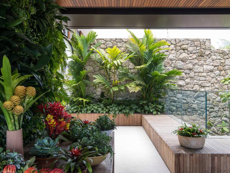 庭院 by Daniel Nunes Paisagismo