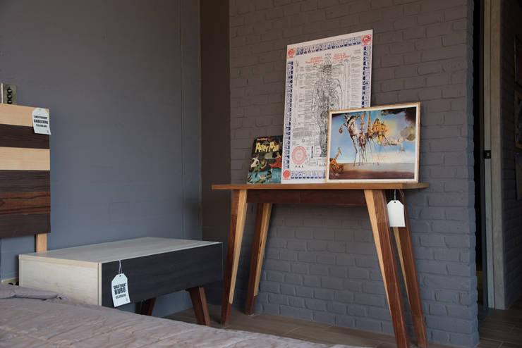Departamento muestra Torre de Piedra : Recámaras de estilo  por DODA Arquitectura + Diseño