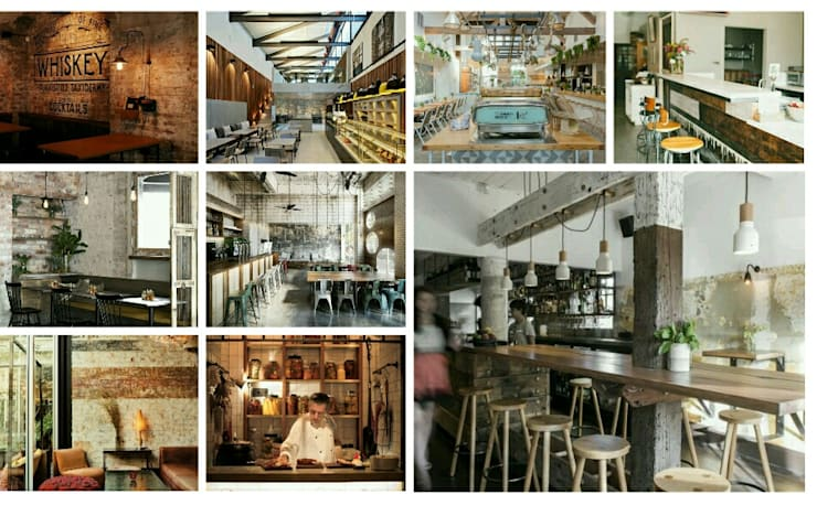 "Restaurant Design: {:asian=>""asian"", :classic=>""classic"", :colonial=>""colonial"", :country=>""country"", :eclectic=>""eclectic"", :industrial=>""industrial"", :mediterranean=>""mediterranean"", :minimalist=>""minimalist"", :modern=>""modern"", :rustic=>""rustic"", :scandinavian=>""scandinavian"", :tropical=>""tropical""}  by Bevel Interior Design,"