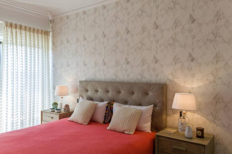 غرفة نوم تنفيذ GF Designers de Interiores