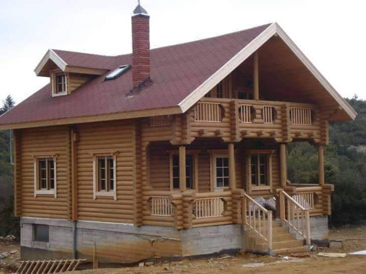 Wooden houses by selin tomruk evleri