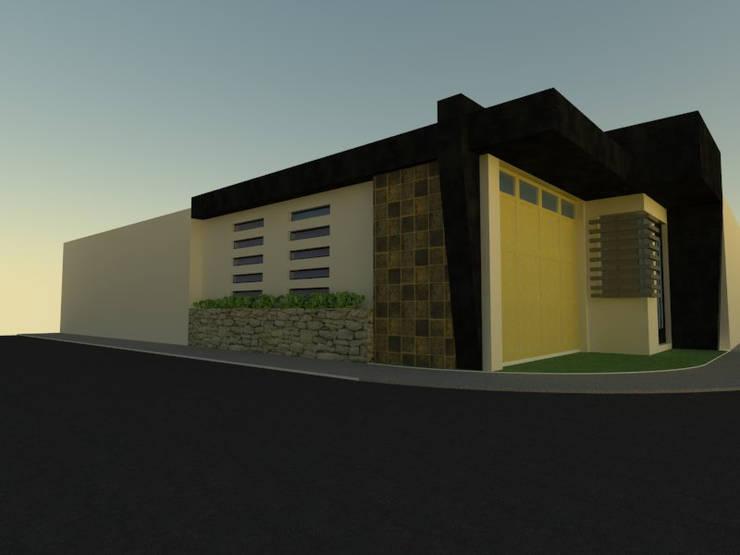Atardecer: Casas de estilo  por Grupo Arquitecura e Identidad