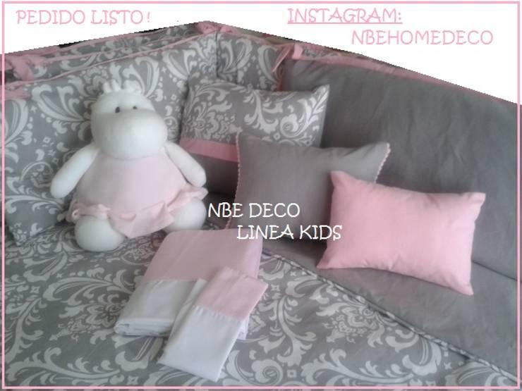 CUARTOS INFANTILES: Dormitorios infantiles  de estilo  por NBe DECO,