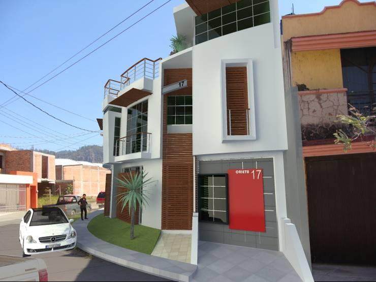 Casa Orietta 10: Casas de estilo  por Lobato Arquitectura