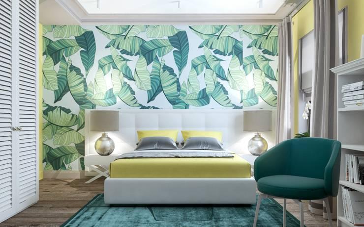 Elegant Home: Спальни в . Автор – Zikzak Design Studio