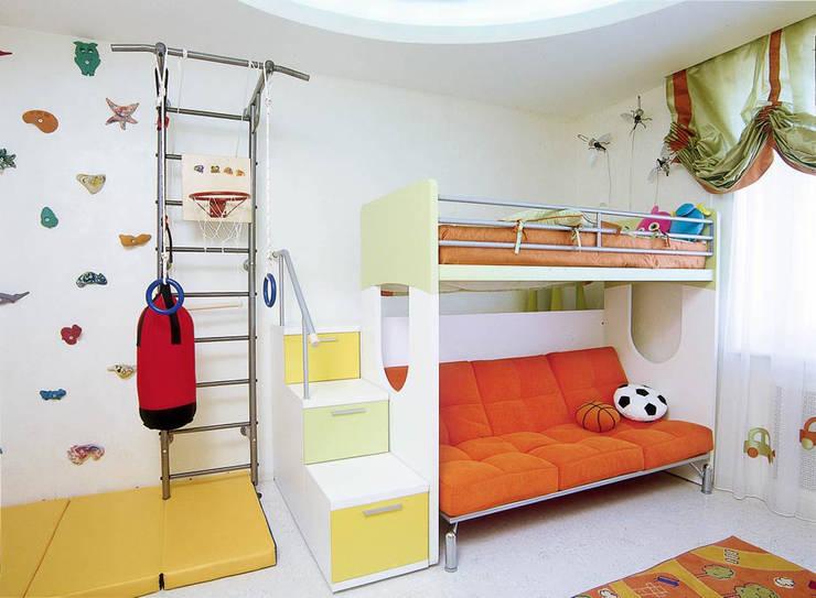 Идеально белый в ЖК Шмитовский: Детские комнаты в . Автор – Дизайн бюро Оксаны Моссур