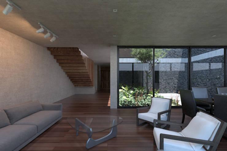 Sala: Salas de estilo  por Studio de Arquitectura y Ciudad,