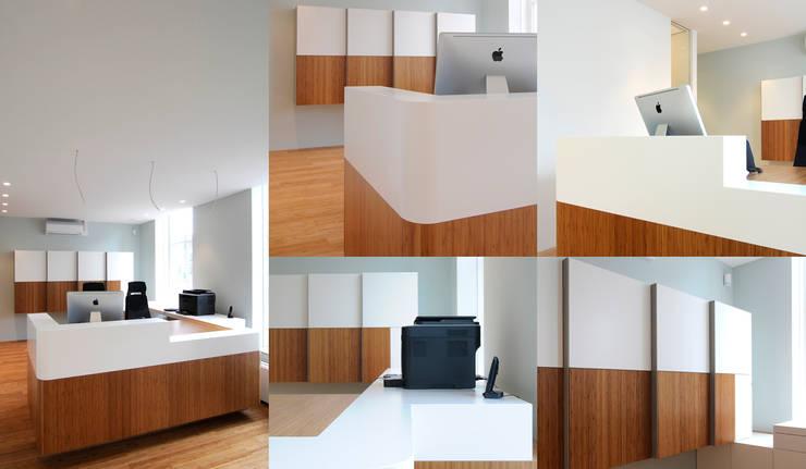 Verbouwing tandartspraktijk De Veste Helmond:  Gezondheidscentra door gorissendeponti ontwerpers + makers