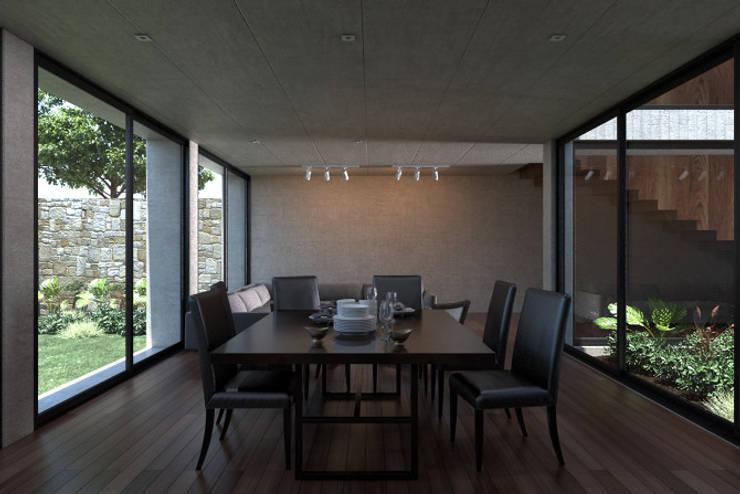 Casa Mariana: Comedores de estilo  por Studio de Arquitectura y Ciudad