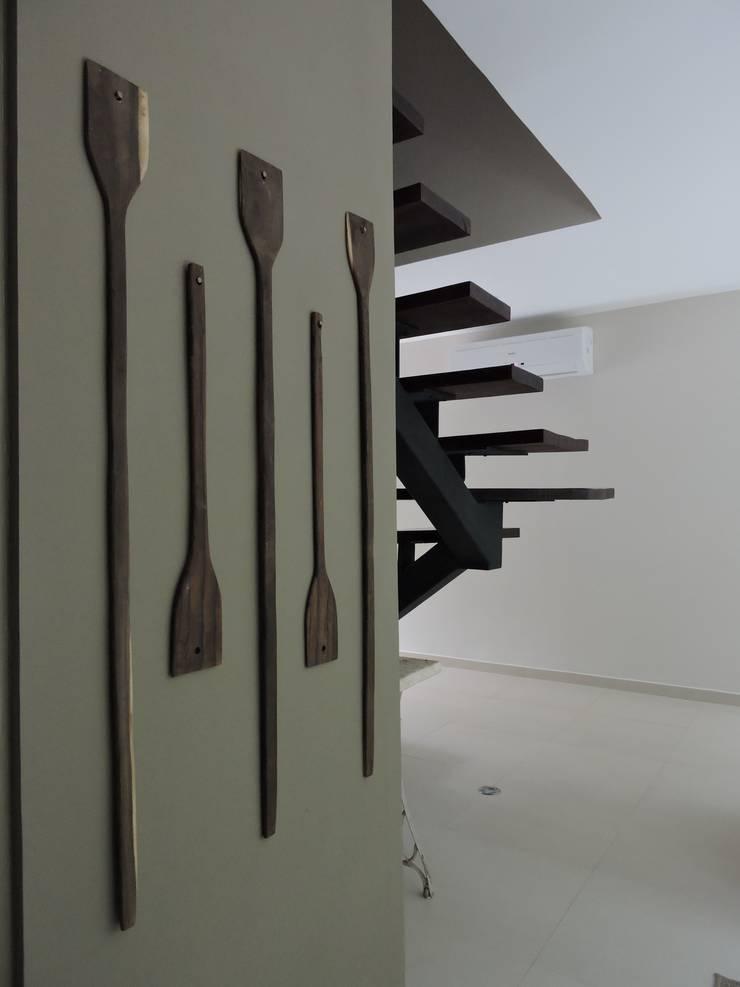 VILLAS YAXXIK, ALDEA ZAMÁ: Salas de estilo  por Vau Studio