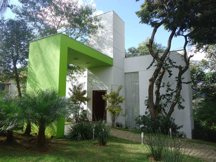 Casas de estilo  por Alexandre Senra Arquitetos Associados