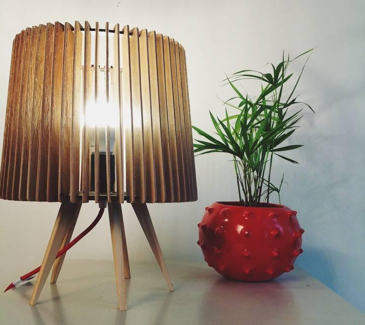 por Angelo Luz + Diseño Escandinavo Madeira Efeito de madeira