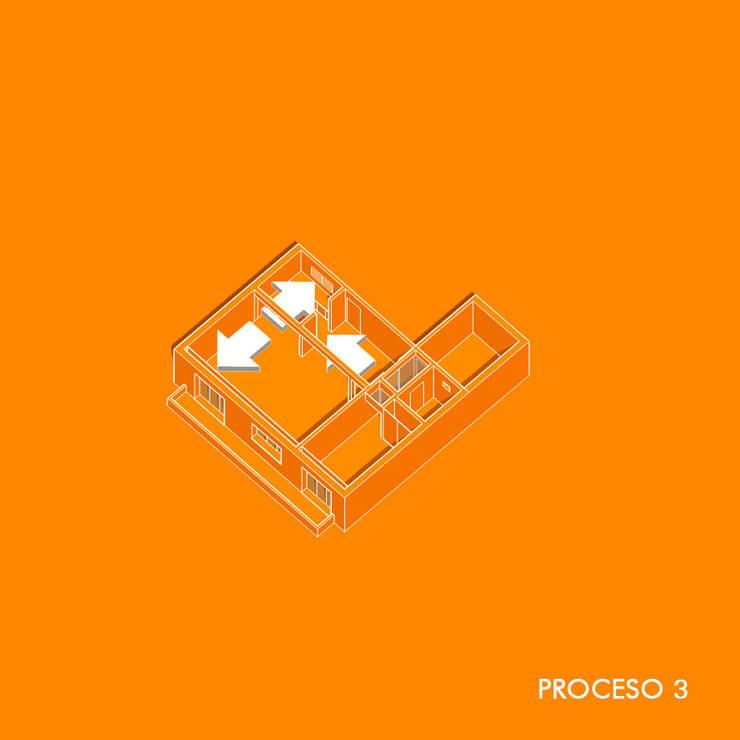 Obra Boedo:  de estilo  por FLA - Fernando Ludueña Arquitecto,