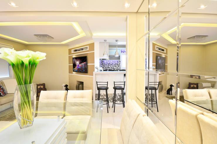 Salas de estar  por Graça Brenner Arquitetura e Interiores,