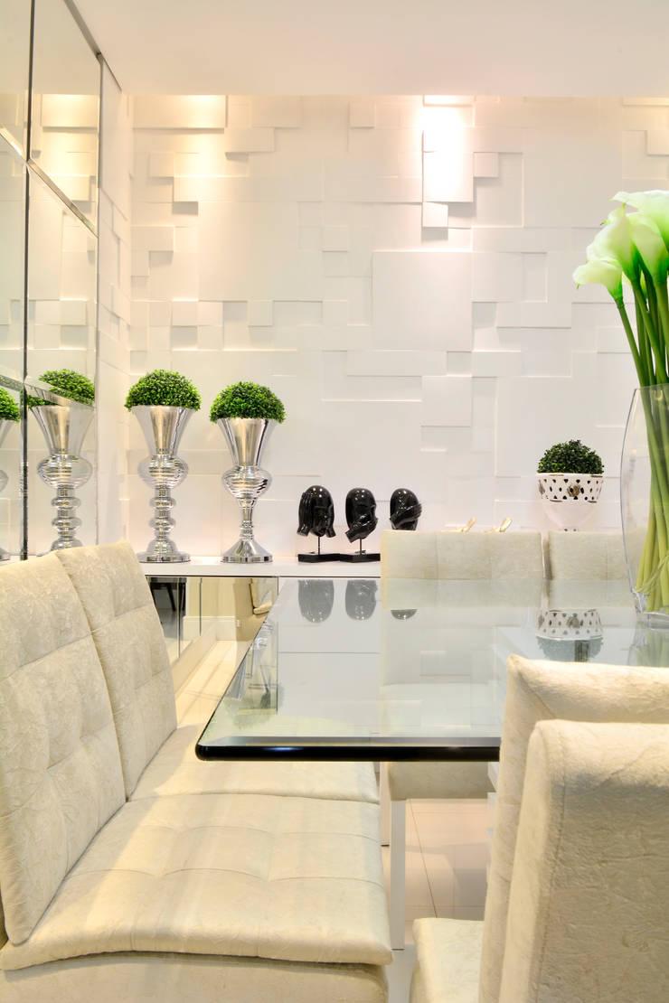 Salas de jantar  por Graça Brenner Arquitetura e Interiores,