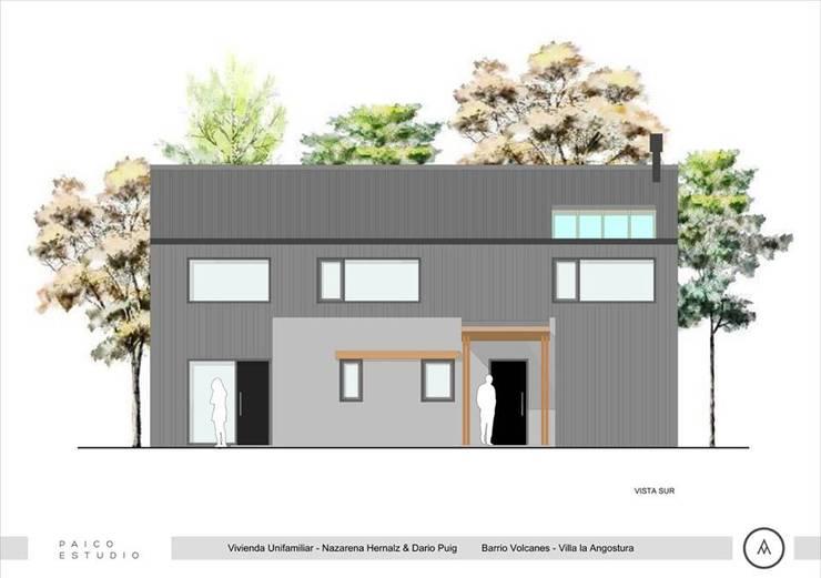 Vista Sur: Casas de estilo  por Paico,