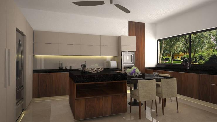 Cocina: Cocinas de estilo  por Vau Studio