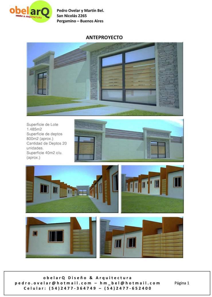 Portada : Casas de estilo  por obelarQ,