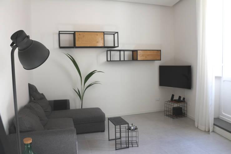 Projekty,  Salon zaprojektowane przez CHIARA MARCHIONNI ARCHITECT
