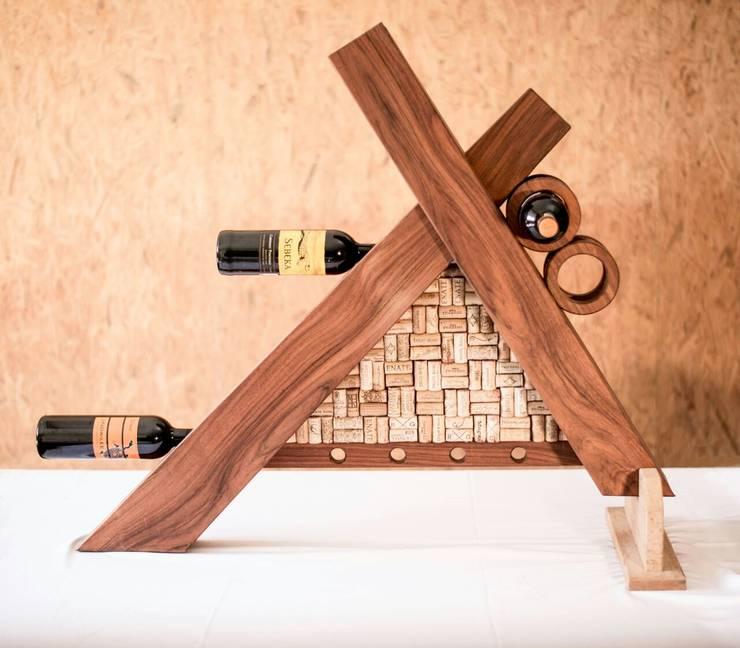 Porta botellas :  de estilo  por Stann Designs S.A de C.V., Moderno