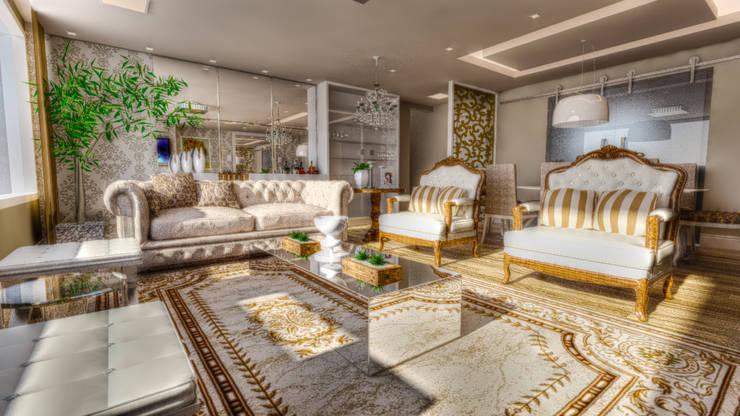 classic Living room by Giovana Lumertz Design de Interiores