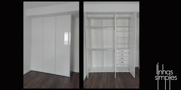 Trabalhos concluidos / works completed: Quartos  por Linhas Simples
