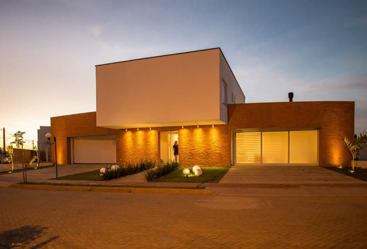 Casas de estilo  por MOWA ARQUITECTURA