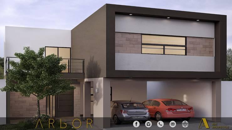 PROYECTO ARBOR: Casas de estilo  por ADC arquitectos , Moderno