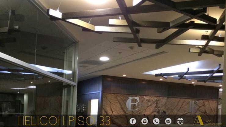 HELICON OFICINAS : Estudios y oficinas de estilo  por ADC arquitectos , Moderno