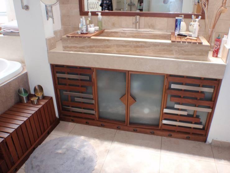 Baño:  de estilo  por Stann Designs S.A de C.V., Moderno