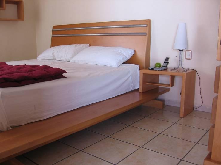 غرفة نوم تنفيذ Stann Designs S.A de C.V.