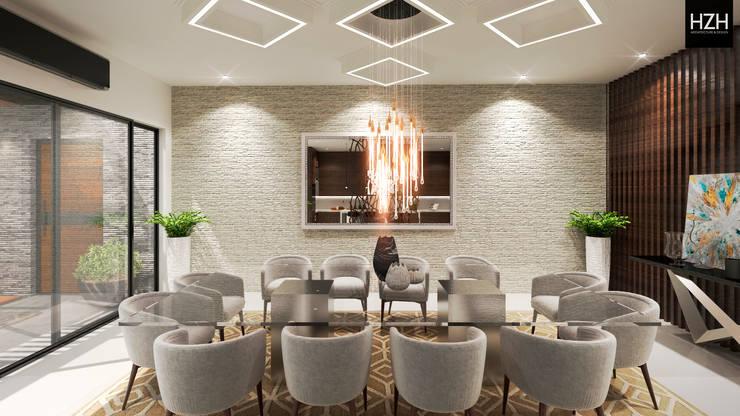 Área de comedor. : Comedores de estilo  por HZH Arquitectura & Diseño