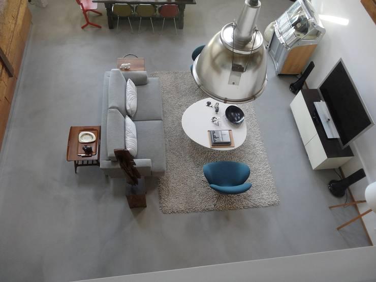 Boden Betonoptik boden in betonoptik von beton2 | homify