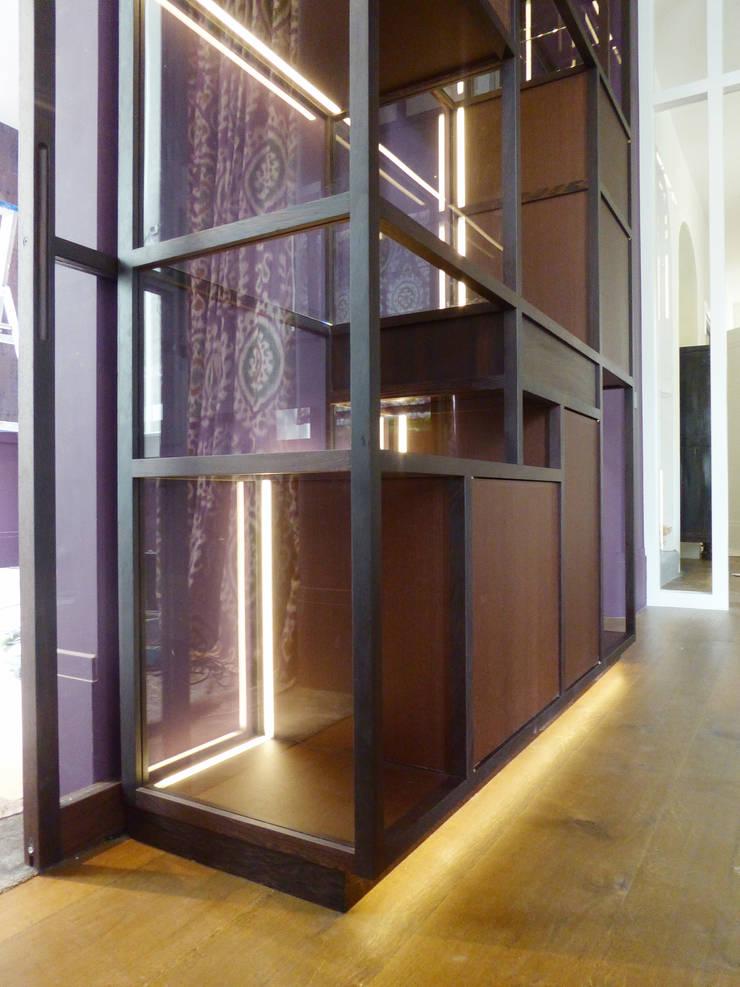 de estilo  de Xylos, Moderno Madera Acabado en madera