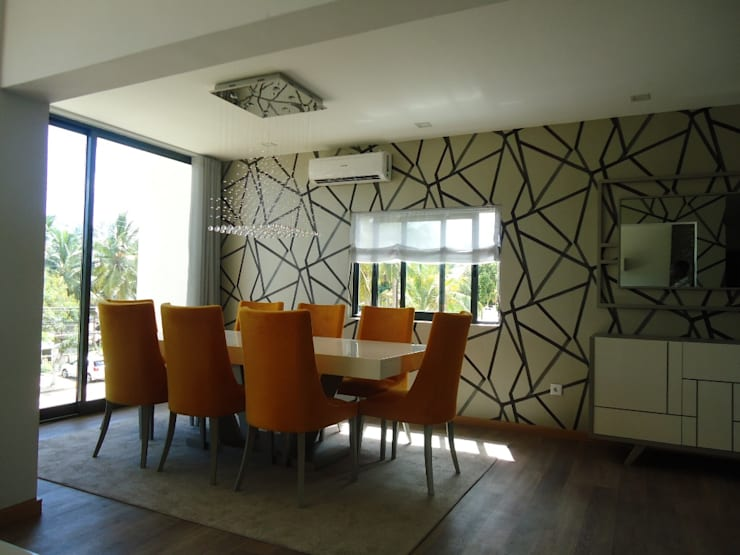 Mobiliário e decoração Moradia: Salas de jantar  por AS-Arquidesign